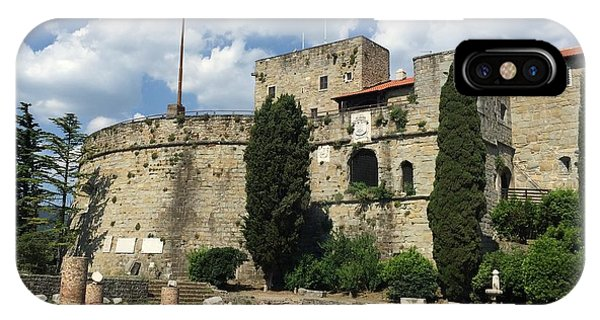 Trieste Castle San Giusto Italy IPhone Case