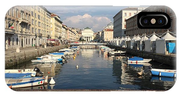 Trieste Grand Canal IPhone Case