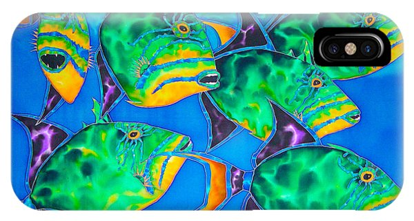 Queen Triggerfish IPhone Case