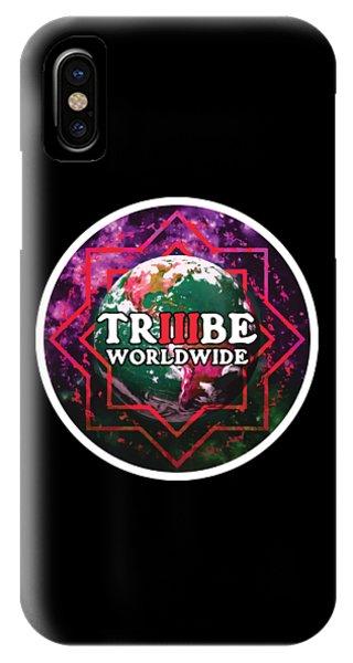Triiibe Worldwide By Lorcan IPhone Case