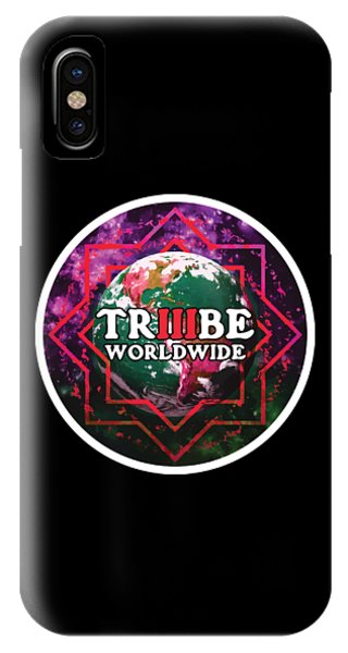 Triiibe Worldwide By Lorcan IPhone Case