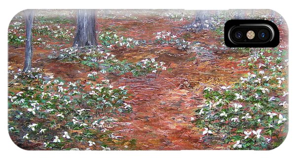 Trilliums After The Rain IPhone Case