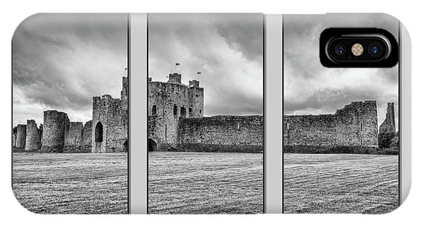 Trim Castle Triptych  IPhone Case