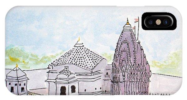 Trimbakeshwar Jyotirlinga IPhone Case