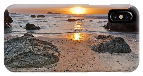 Trinidad State Beach Sunset IPhone Case