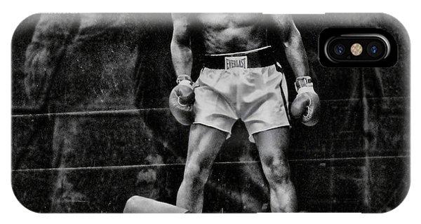 Trinity Boxing Gym Ali Vs Liston  IPhone Case