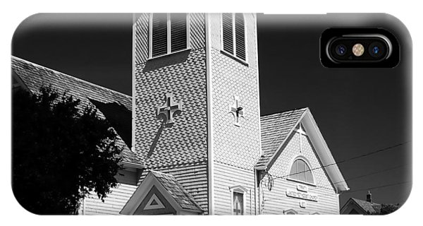 Port Townsend iPhone Case - Trinity Church 1871 by David Lee Thompson