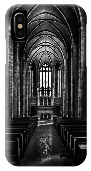 IPhone Case featuring the photograph Trinity College Chapel by Brian Carson