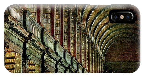 Trinity College Library IPhone Case