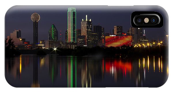 Trinity River Dallas IPhone Case