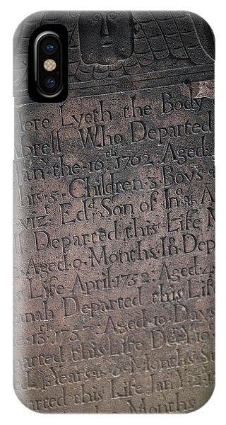 Trinity Tombstone IPhone Case