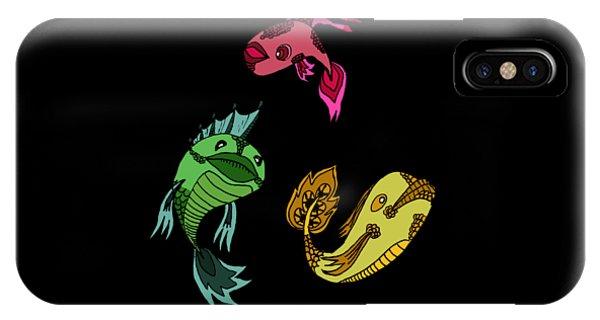 Trio Fish IPhone Case