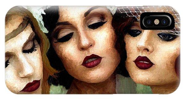 Trio Of Ladies IPhone Case