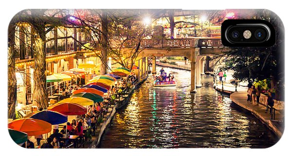 Trip To The Riverwalk IPhone Case