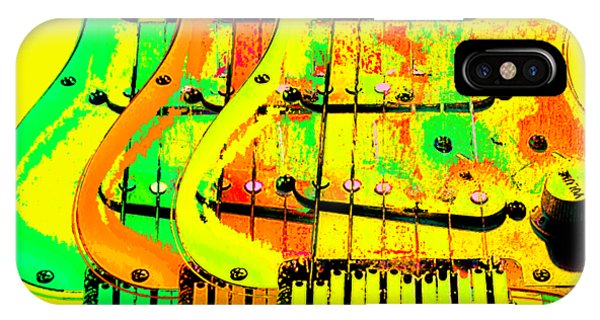 IPhone Case featuring the photograph Triple Pickguards by Guitar Wacky