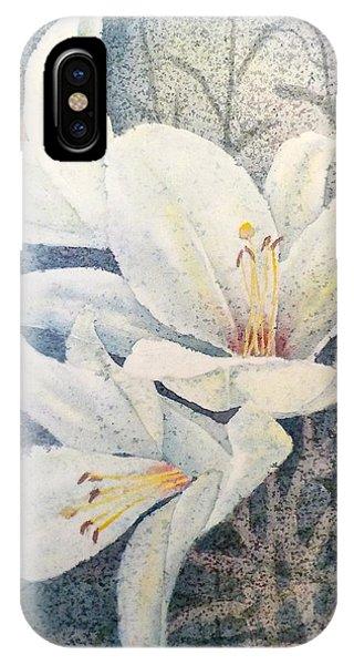 Triplefold White IPhone Case