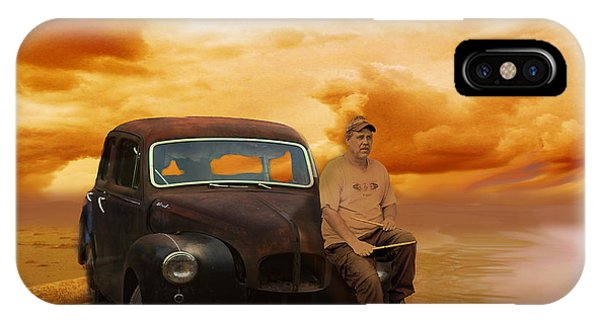 Trippin' With My '48 Austin A40 IPhone Case