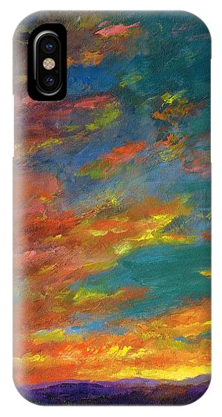 Triptych 1 Desert Sunset IPhone Case