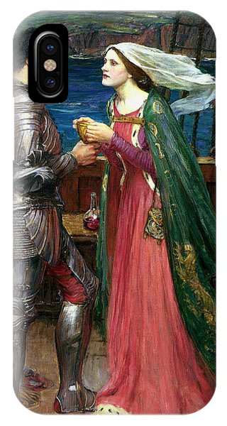 Potion iPhone Case - Tristan And Isolde With The Potion by John William Waterhouse
