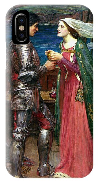 Tristan And Isolde With The Potion IPhone Case