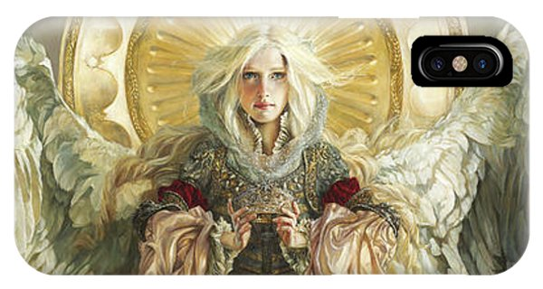 Blond iPhone Case - Triumph by Heather Theurer