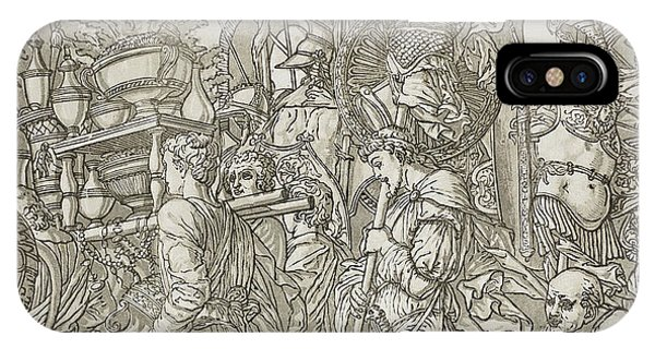 Baroque iPhone Case - Triumph Of Caesar by Andrea Andreani