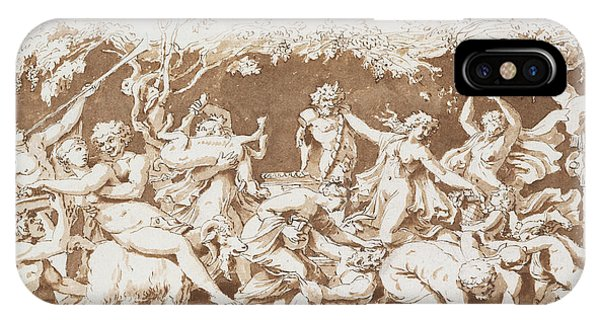 Baroque iPhone Case - Triumph Of Pan by Nicolas Poussin