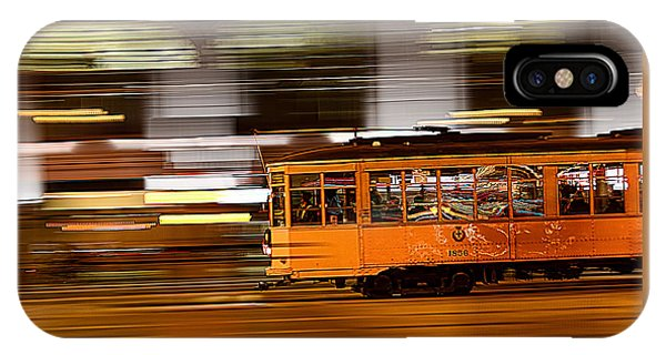 Trolley 1856 On The Move IPhone Case