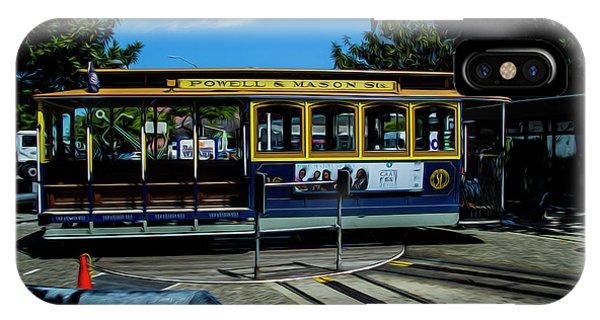 Trolley Car Turn Around IPhone Case