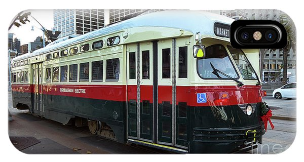 Trolley Number 1077 IPhone Case
