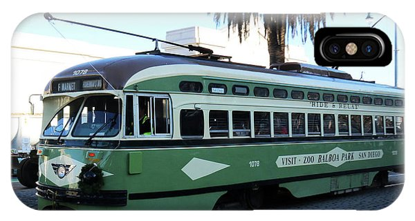 Trolley Number 1078 IPhone Case