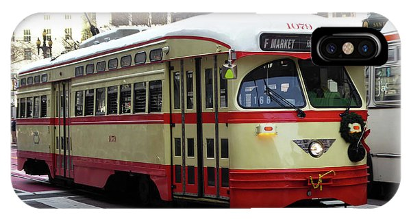 Trolley Number 1079 IPhone Case
