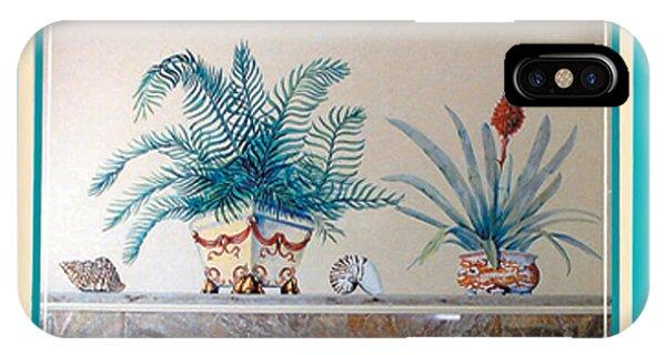 Trompe L'oeil Plants IPhone Case