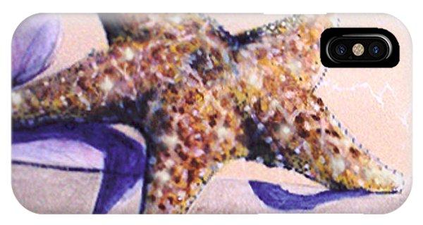 Trompe L'oeil Star Fish IPhone Case