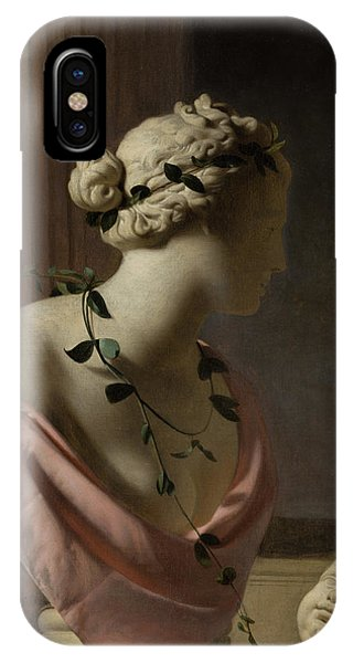 Trompe L'oeil With A Bust Of Venus IPhone Case