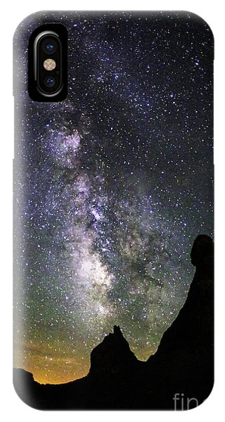 Trona Pinnacles Milky Way IPhone Case