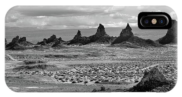 Trona Pinnacles Peaks IPhone Case