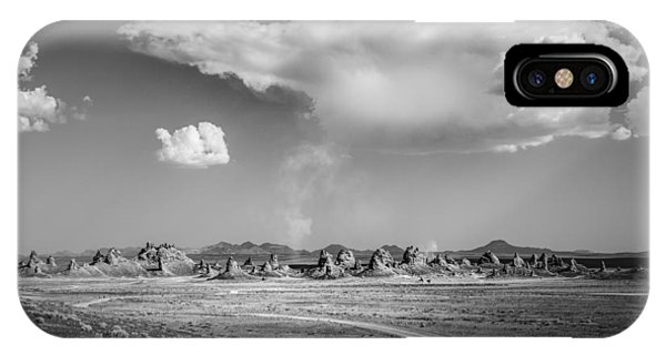 Trona Pinnacles Road  IPhone Case