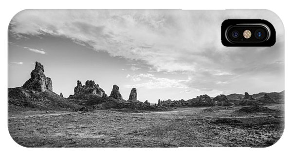 Trona Pinnacles Sky IPhone Case