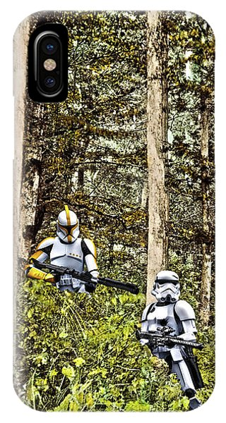 Troopers On The Planet IPhone Case