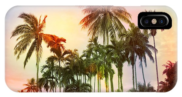 Sky iPhone Case - Tropical 11 by Mark Ashkenazi