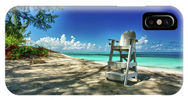Tropical Beach Chair IPhone Case