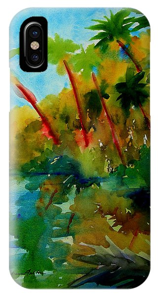 Tropical Canal IPhone Case
