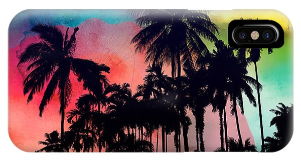 Festival iPhone Case - Tropical Colors by Mark Ashkenazi