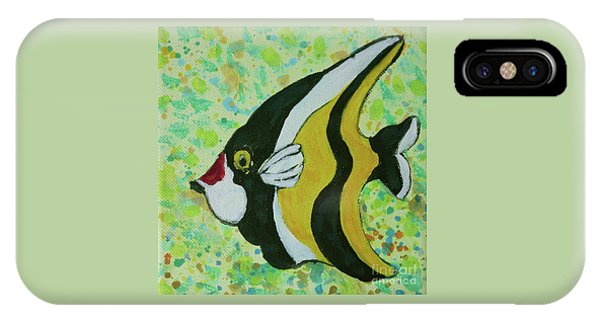 Tropical Fish Series 1 Of 4 IPhone Case