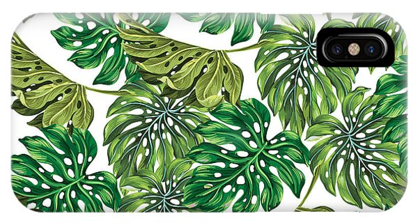 Tropical iPhone Case - Tropical Haven  by Mark Ashkenazi