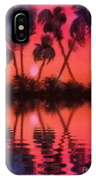 Tropical Heat Wave IPhone Case
