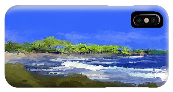 Tropical Island Coast IPhone Case