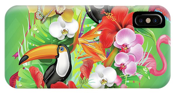 Tropical  Karnaval IPhone Case
