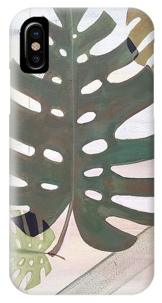 Tropical iPhone Case - Tropical Leaf by Laura Parrish
